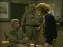 Helen Daniels, Harold Bishop, Madge Bishop in Neighbours Episode 1110