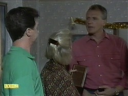 Paul Robinson, Helen Daniels, Jim Robinson in Neighbours Episode 1111