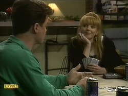 Paul Robinson, Melanie Pearson in Neighbours Episode 1111
