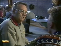 Harold Bishop, Reverend Richards in Neighbours Episode 1111
