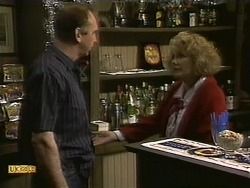 Wally Brown, Madge Bishop in Neighbours Episode 1112