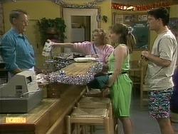 Harold Bishop, Madge Bishop, Lee Maloney, Matt Robinson in Neighbours Episode 1112