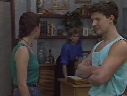 Debra Turner, Beverly Marshall, Adam Delaney in Neighbours Episode 1113