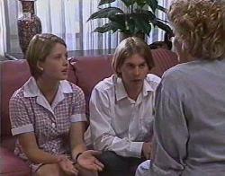 Danni Stark, Brett Stark, Cheryl Stark in Neighbours Episode 2081