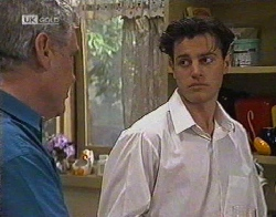 Lou Carpenter, Rick Alessi in Neighbours Episode 2081