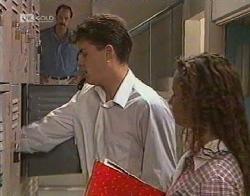 Alan McKenna, Michael Martin, Cody Willis in Neighbours Episode 2081