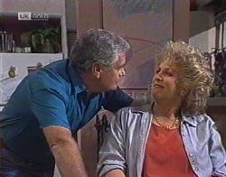 Lou Carpenter, Cheryl Stark in Neighbours Episode 2081