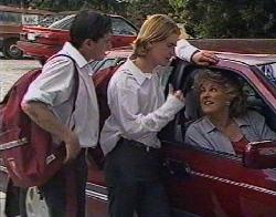 Rick Alessi, Brett Stark, Cheryl Stark in Neighbours Episode 2081