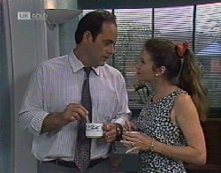Philip Martin, Julie Robinson in Neighbours Episode 2081