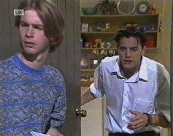 Brett Stark, Rick Alessi in Neighbours Episode 2081