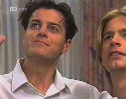 Rick Alessi, Brett Stark in Neighbours Episode 2081
