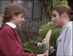 Hannah Martin, Casper Mack in Neighbours Episode 2733