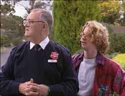 Harold Bishop, Brett Stark in Neighbours Episode 2733