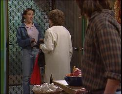 Libby Kennedy, Marlene Kratz, Darren Stark in Neighbours Episode 2733