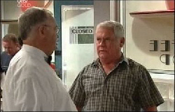 Harold Bishop, Lou Carpenter in Neighbours Episode 3930