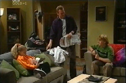 Summer Hoyland, Max Hoyland, Boyd Hoyland in Neighbours Episode 4102