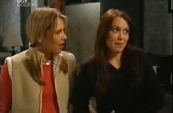 Steph Scully, Libby Kennedy in Neighbours Episode 4102