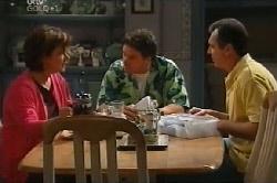 Lyn Scully, Joe Scully, Karl Kennedy in Neighbours Episode 4103