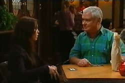Libby Kennedy, Lou Carpenter in Neighbours Episode 4103