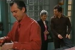 Karl Kennedy, Chloe Lambert, Darcy Tyler in Neighbours Episode 4104