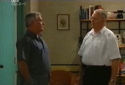 Lou Carpenter, Harold Bishop in Neighbours Episode 4105
