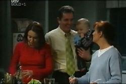 Libby Kennedy, Karl Kennedy, Ben Kirk, Susan Kennedy in Neighbours Episode 4108