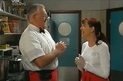 Harold Bishop, Susan Kennedy in Neighbours Episode 4110