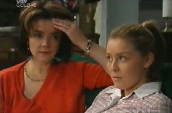 Lyn Scully, Michelle Scully in Neighbours Episode 4110
