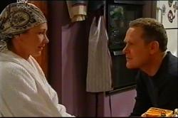 Steph Scully, Max Hoyland in Neighbours Episode 4401