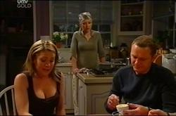 Izzy Hoyland, Steph Scully, Max Hoyland in Neighbours Episode 4401