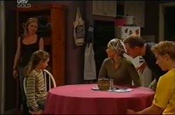 Izzy Hoyland, Summer Hoyland, Steph Scully, Max Hoyland, Boyd Hoyland in Neighbours Episode 4401