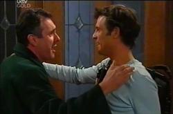 Karl Kennedy, Malcolm Kennedy in Neighbours Episode 4402