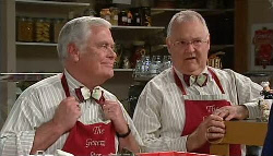 Lou Carpenter, Harold Bishop in Neighbours Episode 4919