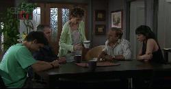 Zeke Kinski, Karl Kennedy, Susan Kennedy, Brad Jordan, Taylah Jordan in Neighbours Episode 5441