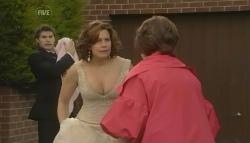 Declan Napier, India Napier, Rebecca Napier, Lyn Scully in Neighbours Episode 5762