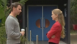 Lucas Fitzgerald, Elle Robinson in Neighbours Episode 5766