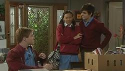 Ringo Brown, Sunny Lee, Zeke Kinski in Neighbours Episode 5767