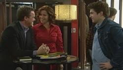 Paul Robinson, Rebecca Napier, Declan Napier in Neighbours Episode 5768