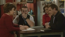 Lyn Scully, Toadie Rebecchi, Rebecca Napier, Paul Robinson in Neighbours Episode 5768