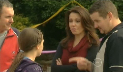 Karl Kennedy, Sophie Ramsay, Libby Kennedy, Toadie Rebecchi in Neighbours Episode 5770