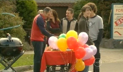 Karl Kennedy, Libby Kennedy, Toadie Rebecchi, Kate Ramsay, Harry Ramsay in Neighbours Episode 5770