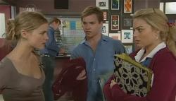 Elle Robinson, Ringo Brown, Donna Freedman in Neighbours Episode 5771