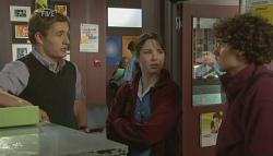 Dan Fitzgerald, Kate Ramsay, Harry Ramsay in Neighbours Episode 5771