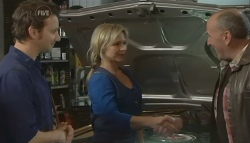 Lucas Fitzgerald, Steph Scully, 'Hot' Rod Falzon in Neighbours Episode 5773