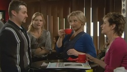Toadie Rebecchi, Elle Robinson, Steph Scully, Susan Kennedy in Neighbours Episode 5773