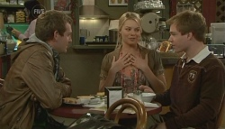 James Linden, Donna Freedman, Ringo Brown in Neighbours Episode 5774