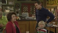 Rebecca Napier, Paul Robinson, Charlie Hoyland in Neighbours Episode 5774