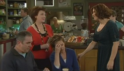 Karl Kennedy, Lyn Scully, Susan Kennedy, Rebecca Napier in Neighbours Episode 5775