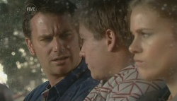 Lucas Fitzgerald, Ringo Brown, Elle Robinson in Neighbours Episode 5776
