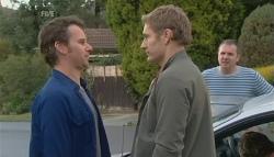 Lucas Fitzgerald, Dan Fitzgerald, Karl Kennedy in Neighbours Episode 5779